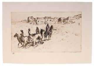 Navajo Visitors at Oraibi]. Edward BOREIN