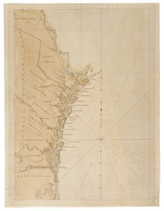 Chart of the Coast of Georgia]. J. F. W. DES BARRES