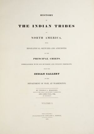 History of the Indian Tribes of North America
