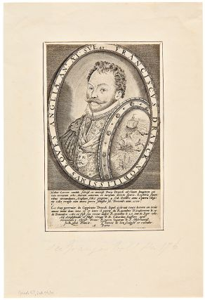 Francisvs Draeck Nobilissimvs Eqves Angliæ AN. ÆT SVE 43. Sir Francis DRAKE, the elder - Thomas...