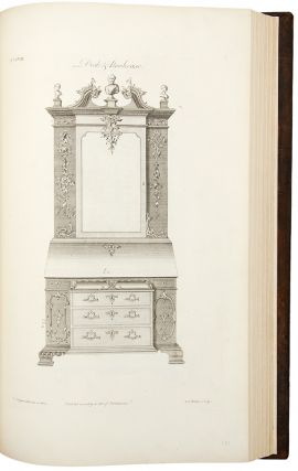 The Gentleman and Cabinet-Maker's Director: being a large collection of the most elegant and useful designs of household furniture, in the most fashionable taste ... The Third Edition
