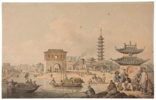 [View of the Suburbs of a Chinese City]. William ALEXANDER.