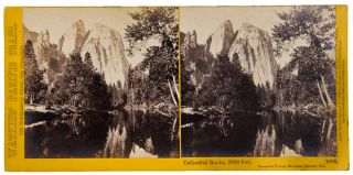 Collection of 56 stereoscopic photographic views from Watkins' Pacific Coast series, principally...