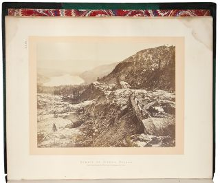 Sun Pictures of Rocky Mountain Scenery, With a Description of the Geographical and Geological Features, and Some Account of the Resources of the Great West; Containing Thirty Photographic Views Along the Line of the Pacific Rail Road, From Omaha to Sacramento