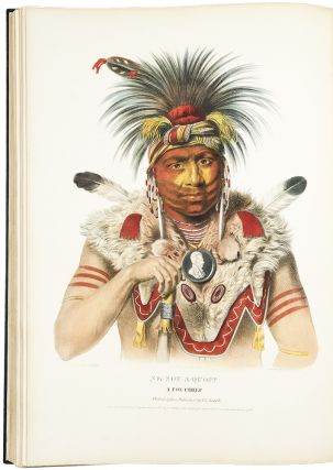 History of the Indian Tribes of North America, with Biographical Sketches and Anecdotes of the...