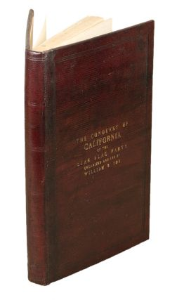 "A Biographical Sketch of the Life of William B. Ide: with a minute and interesting account of one of the largest emigrating companies. (3000 miles over land), from the east to the Pacific coast. And what is claimed as the most authentic and reliable account of ""the virtual conquest of California, in June, 1846, by the Bear Flag Party"""