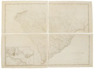 A Map of South Carolina: Constructed and Drawn from the District Surveys Ordered by the...