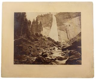 Yowiye Falls. Valley of the Yosemite. Eadweard James MUYBRIDGE