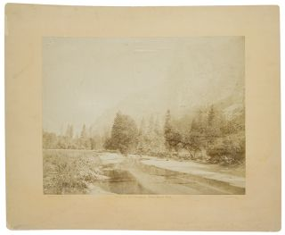 Valley of the Yosemite, from Sandy Flat. Eadweard James MUYBRIDGE.