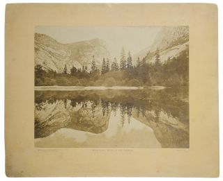 Mirror Lake, Valley of the Yosemite. Eadweard James MUYBRIDGE.