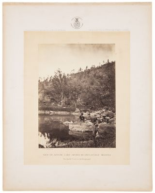 [Photographs Showing Landscapes, Geological and Other Features of Portions of the Western Territory of the United States]