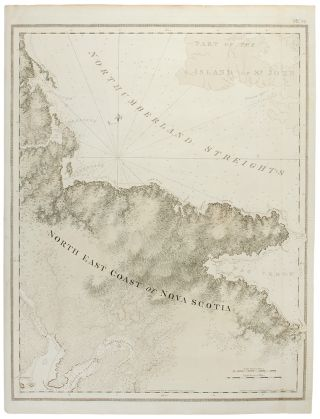North East Coast of Nova Scotia / Northumberland Streights [sic] (One sheet). J. F. W. DES BARRES