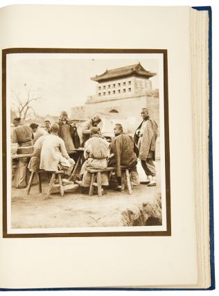 The Pageant of Peking. Comprising Sixty-six Vandyck Photogravures of Peking and Environs ... With an Introduction by Putnam Weale. Descriptive notes by S. Coulie.