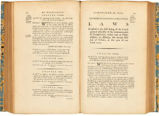 The Acts of the General Assembly of the Commonwealth of Pennsylvania...and an Appendix, containing the Laws now in Force, Passed between the 30th day of September 1775, and the Revolution....