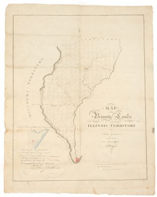{rtf1ansideff0{fonttbl {f0fswiss MS Sans Serif;}}pardf0fs20 Map of the Bounty Lands in Illinois...