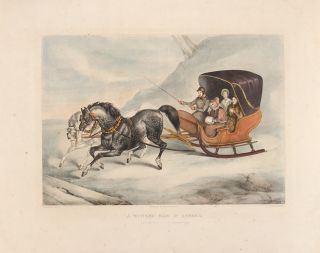 A Winter's Ride in America. J. M. BURBANK, d. 1873