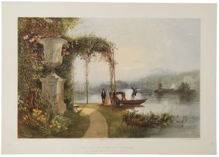 The Lake, Trentham Hall Gardens, The Seat of His Grace the Duke of Sutherland. After E. Adveno...