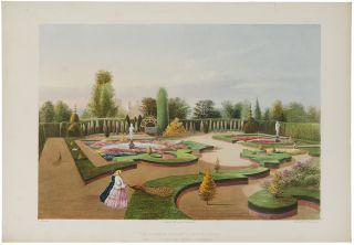 """The Alhambra Garden,"" Elvaston Castle, the Seat of the Right Honble. the Earl of Harrington...."