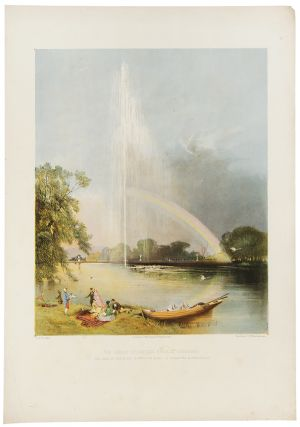 The Great Fountain, Enville Gardens, the Seat of the Right Honble. the Earl of Stamford and...