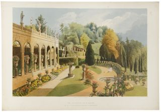 The Colonnade, Alton Gardens. The Seat of the Right Hnble. The Earl of Shrewsbury. After E....
