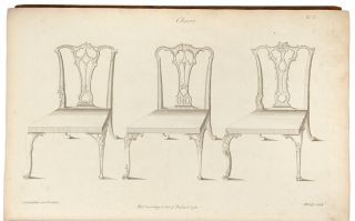 The Gentleman and Cabinet-Maker's Director: being a large collection of the most elegant and...