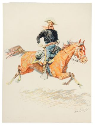 A Cavalry Officer. Frederic REMINGTON