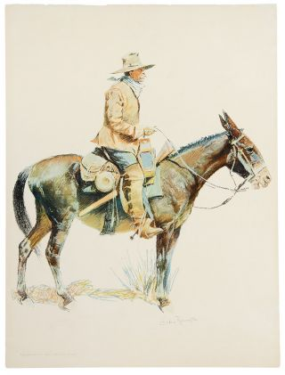 Army Packer. Frederic REMINGTON
