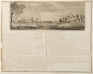 The West Prospect of Eton Town & College, with part of Windsor, and the Castle. WINDSOR CASTLE...