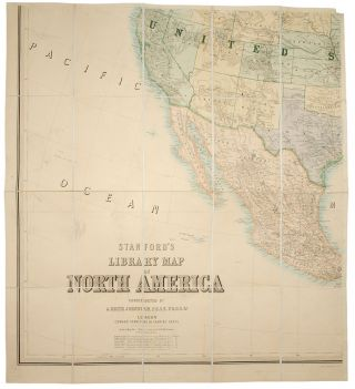 Stanford's Library Map of North America