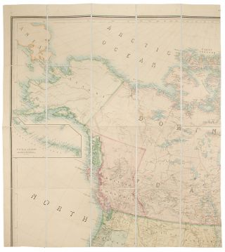 Stanford's Library Map of North America. Alexander Keith JOHNSTON