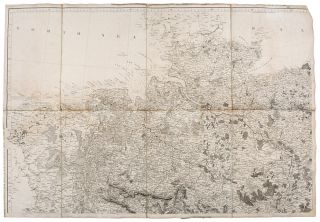 To His Royal Highness the Duke of Cambridge, K. G. &c. This Map of the Physical Divisions of Germany Exhibiting the Post Roads, Canals, &c. Constructed from Original Materials...