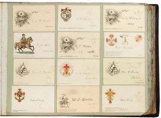 Knights Templar Cards from the Triennial at Washington, D. C. [cover title]