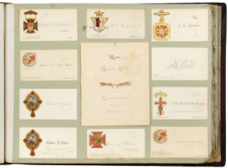 Knights Templar Cards from the Triennial at Washington, D. C. [cover title]. Knights Templar...
