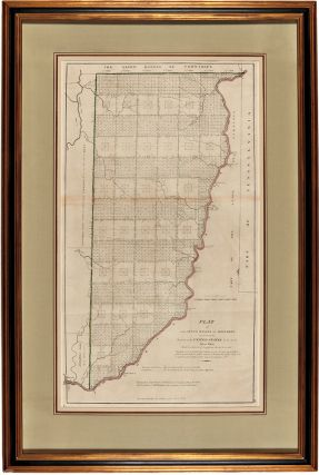 Plat of the Seven Ranges of Townships being part of the Territory of the United States N.W. of the River Ohio which by a late Act of Congress are directed to be sold.