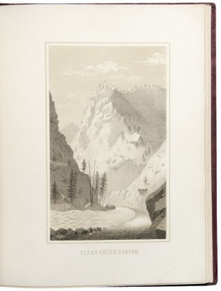 Gems of Rocky Mountain Scenery, Containing Views Along and Near the Union Pacific Railroad....