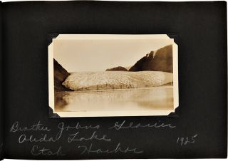 Album of Original Photographs from three Arctic expeditions commanded by Donald Baxter MacMillan....