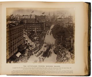Seven Mile Funeral Cortège of Genl. Grant in New York Aug. 8, 1885 [cover title]