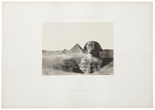 A collection of 66 photographs from Égypte, Nubie, Palestine et Syrie: dessins photographiques...