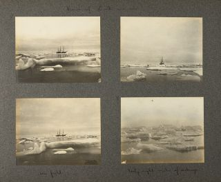 [Incredible album of photographs documenting Peary's final expedition to the Arctic]
