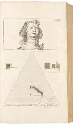 A Description of the East, and Some other Countries ... Observations on Egypt; [Vol. II, part 1:...