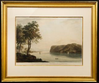 View of St Anthony's Nose, on the North River, Province of New York, 1795. George Bulteel after...