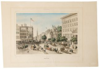 New York. Broad-way. After Augustus Theodore Frederick Adam KÖLLNER
