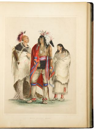 Catlin's North American Indian Portfolio. Hunting Scenes and Amusements of the Rocky Mountains...