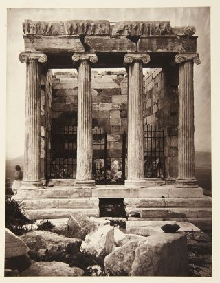 The Acropolis of Athens, Illustrated Picturesquely and Architecturally in Photography