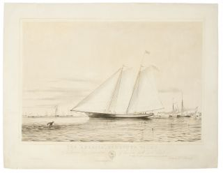 "The ""America"" Schooner Yacht. C Stevens, Esq Commodore of the New York Yacht Club. Thomas..."