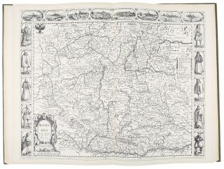 John Speed. A Prospect of the Most Famous Parts of the World. London 1627. publisher THEATRUM...