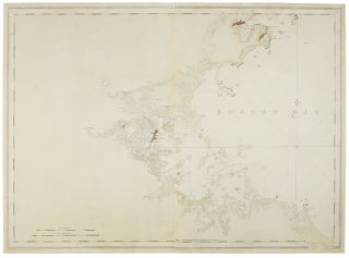 Untitled chart of Boston Bay]. J. F. W. SAMUEL HOLLAND DES BARRES, publisher, and