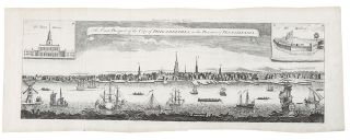 The East Prospect of the City of Philadelphia, in the Province of Pennsylvania. George HEAP,...