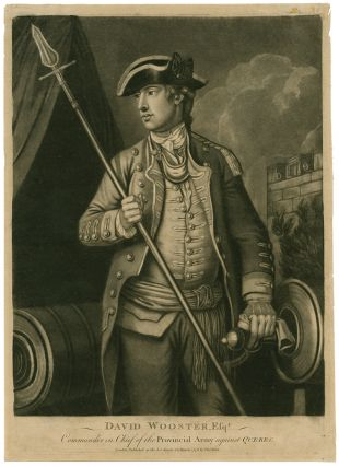 Collection of eight mezzotint portraits of American officers and leaders of the Revolution