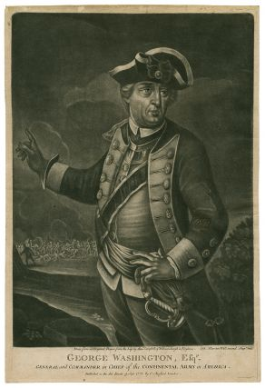 Collection of eight mezzotint portraits of American officers and leaders of the Revolution....